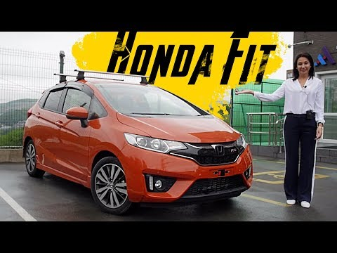 Honda FIT RS. Спортивка для бизнес-леди. Обзор.