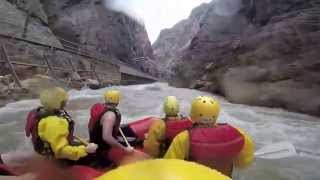 Class 5 White Water Rafting Royal Gorge In Canon City, Colorado
