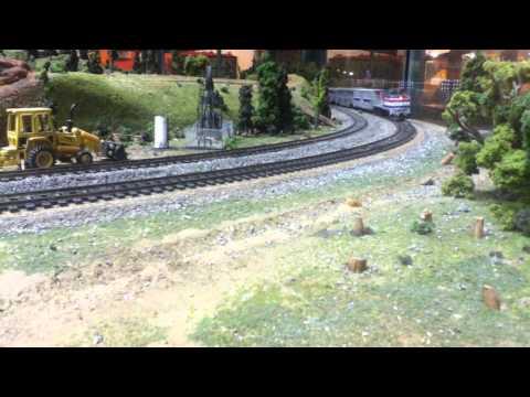 HO Scale Trains: Amtrak