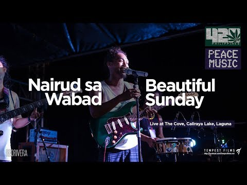 Beautiful Sunday (Cover by Nairud sa Wabad w/ Lyrics) - 420 Philippines Peace Music 6