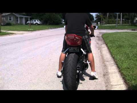 Leo Vince SBK Factory R Carbon Slip On 2010 CBR 1000RR Sound Clip