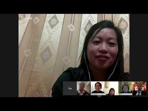 """""""HK Nepalese Woman Voice""""- Webinar"""