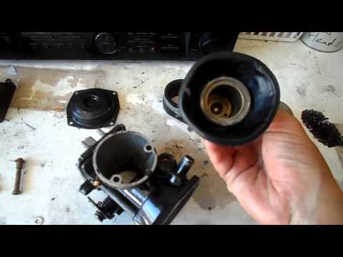 My virago carb problem doovi for Yamaha virago 1100 carburetor adjustment