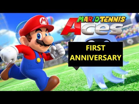 Mario Tennis Aces - Online Matches 33 (First Anniversary)