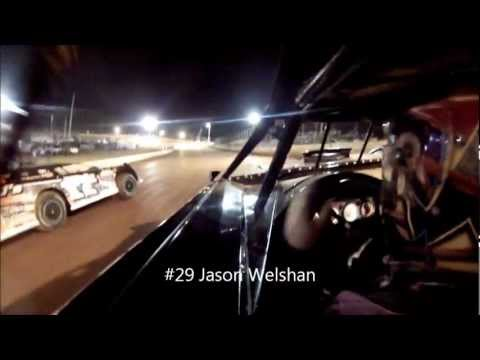 #29 Jason Welshan - Feature In-Car Camera Win Footage - North Georgia Speedway