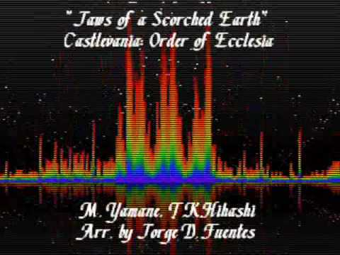 Jaws of a Scorced Earth - Tymeo Mountains - Castlevania: Order of Ecclesia