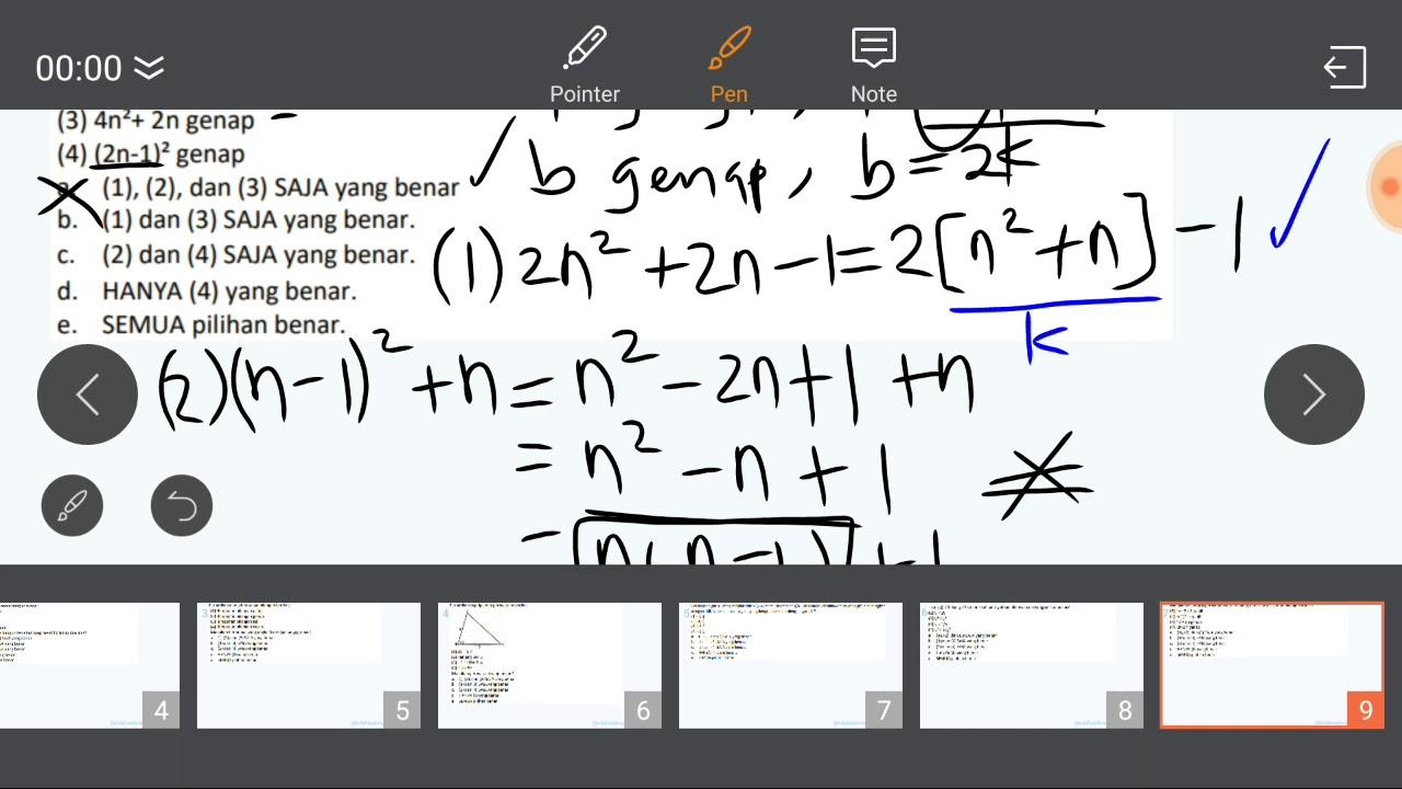 5.2 Prediksi Matematika Dasar Pengetahuan Kuantitatif TPS ...