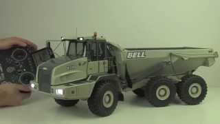 Big Toy For Adults only: Review of Awesome RC Dump Truck BELL 35d