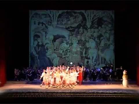 Pearls of Odessa  Christmas concert 2011 in Odessa national theater of opera and ballet