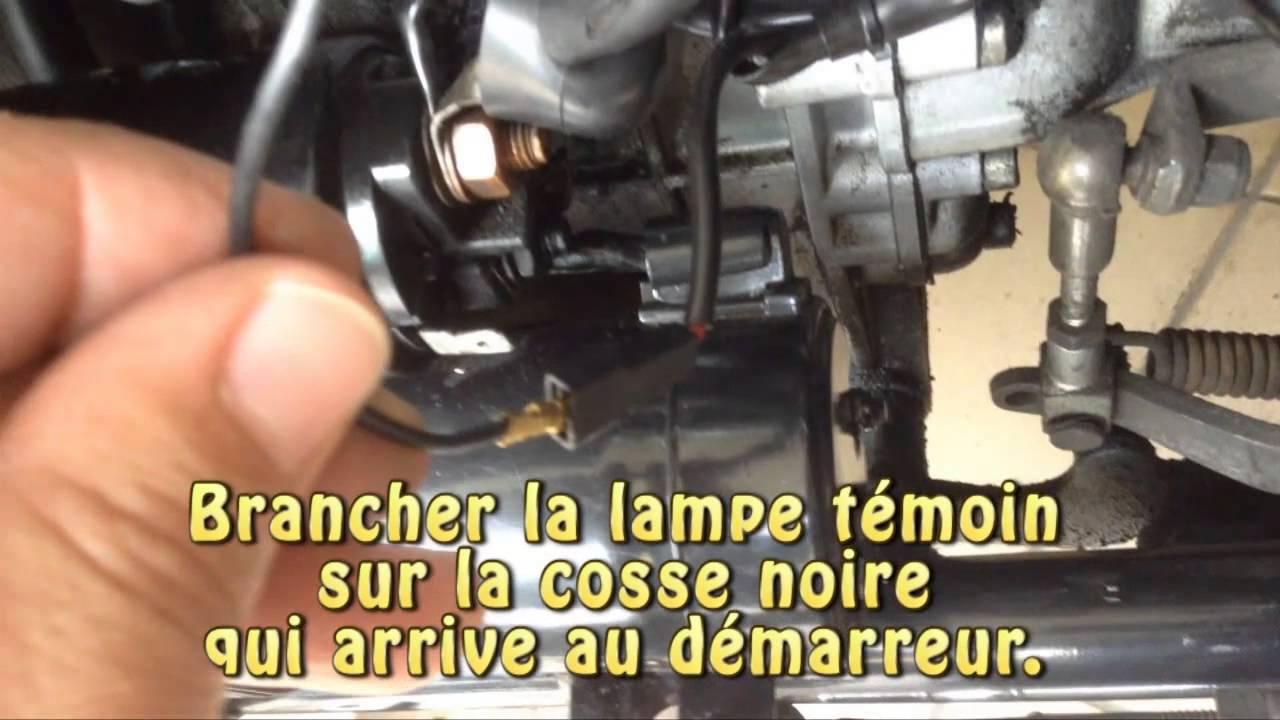Tester demarreur tracteur tondeuse