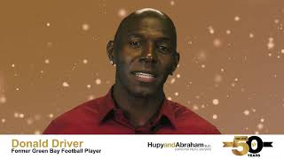 Donald Driver Thanks Hupy and Abraham, S.C. for 50 Years of Dedication to the Community