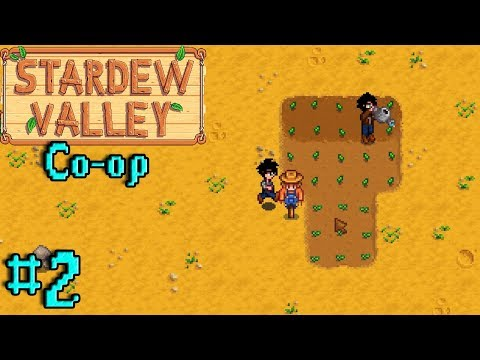 """""""GIVING OUR FARM LIFE!"""" - Stardew Valley Co-op 