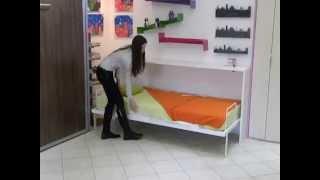 Horizontalni zidni krevet (STANDARD) - Horizontal Wall Bed (STANDARD)