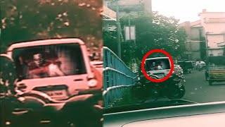 Scariest Ghost inside of a car | Demon Caught on Camera