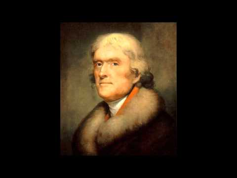 Bill Barker as Thomas Jefferson   Monticello Podcasts   Thomas Jefferson to Roger C. Weightman, June