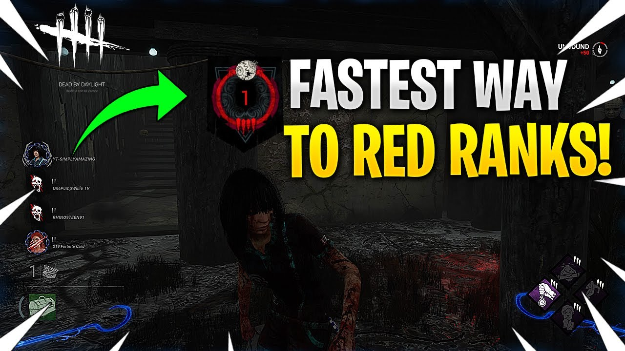 Download Fastest Way To Rank Up In Dead By Daylight!