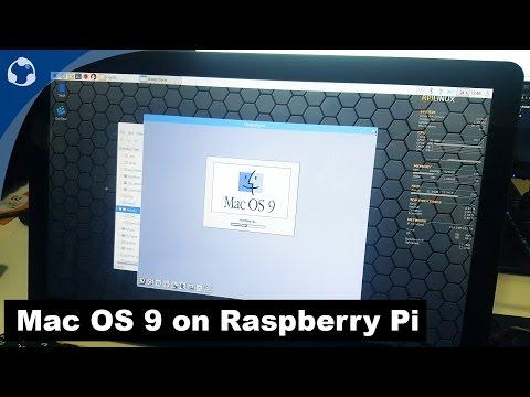Running Mac OS 9 on Raspberry pi