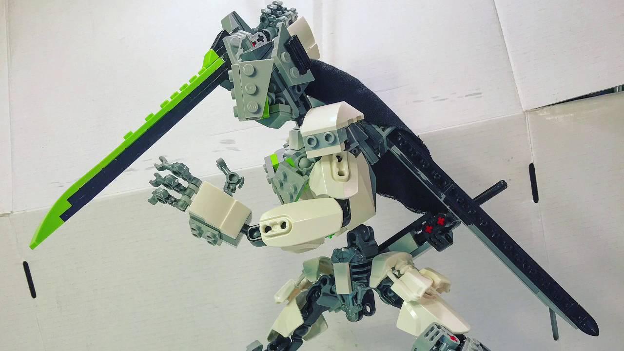 Lego Overwatch MOC Genji Doovi