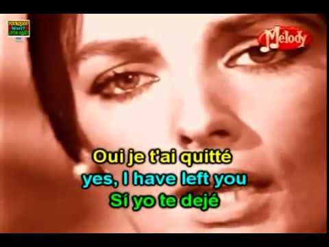 Marie Laforêt Mon amour mon ami French / English Lyrics Subtitles