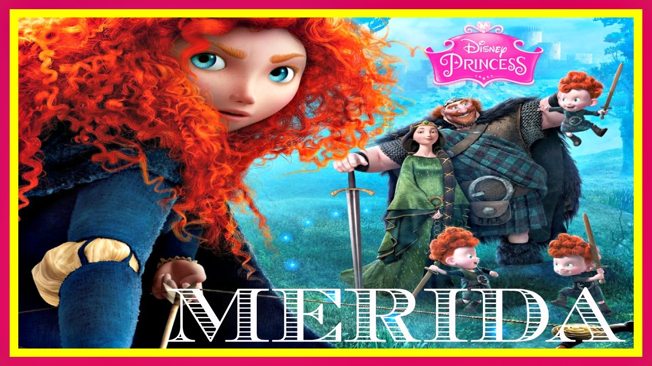 Brave disney princess merida