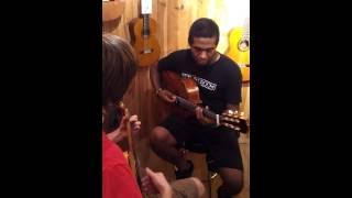 Bobby Roberts jam session(2)