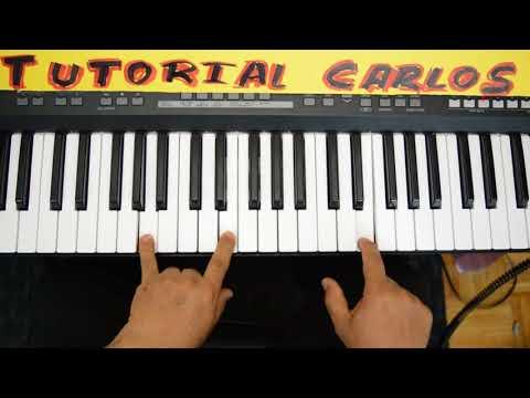 Miel San Marcos Intro Pentecostes Piano Tutorial Carlos