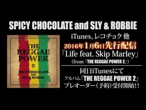 発表!SPICY CHOCOLATE and SLY & ROBBIE 『THE REGGAE POWER 2』発売決定!Skip Marleyも参加![スパイシー]