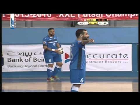XXL Energy Futsal Championship - Bank Beirut v/s Mayaden - 2/4/2016