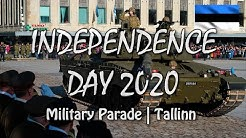 Estonian Independence Day 2020 | Military Parade | Freedom Square | Tallinn