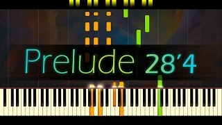 Prelude In E Minor Op 28 No 4 CHOPIN