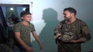 YPG küçük savaşçıları evlerine gönderdi