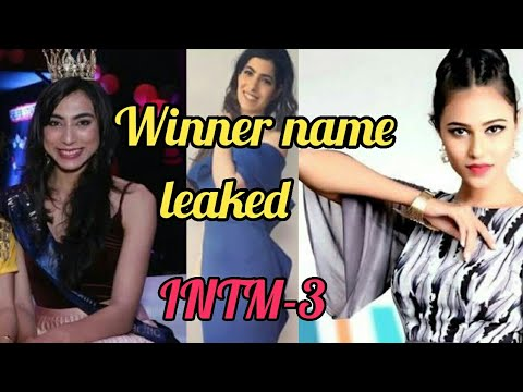Winner of India next top model season 3 || Revealed winner Name intm 3 Winner Name