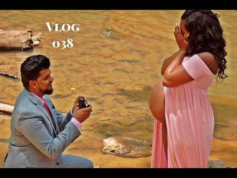 MATERNITY SHOOT TURNS INTO THE BEST WEDDING / MARRIAGE PROPOSAL PHOTOSHOOT EVER !