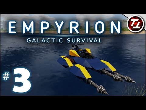 Empyrion: Galactic Survival Gameplay - #3 - Building a Hover Vessel - Let's Play
