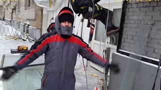 видео Алюминиевое фасадное остекление. Производство теплого алюминия профиля shuko