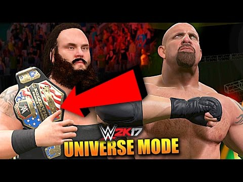 WWE 2K17 UNIVERSE MODE #62 'CAN HE WIN BACK THE CHAMPIONSHIP!?' (WWE 2K17 Gameplay)