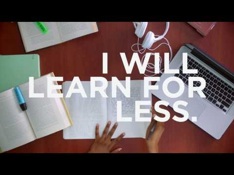 Valencia College - I Will Learn for Less (Cost) web