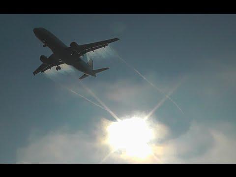 Early Morning Planespotting | Golden fog | Ljubljana airport HD