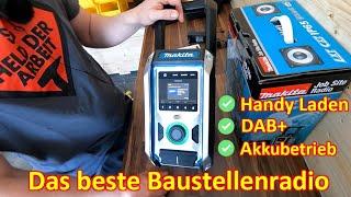 #105 - Das braucht der Handwerker - Makita Baustellenradio DMR115 - Akku, DAB+, Handy-Laden und mehr