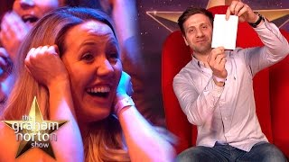 Man Surprises His Wife & Reveals Their Baby's Gender in The Red Chair! | The Graham Norton Show