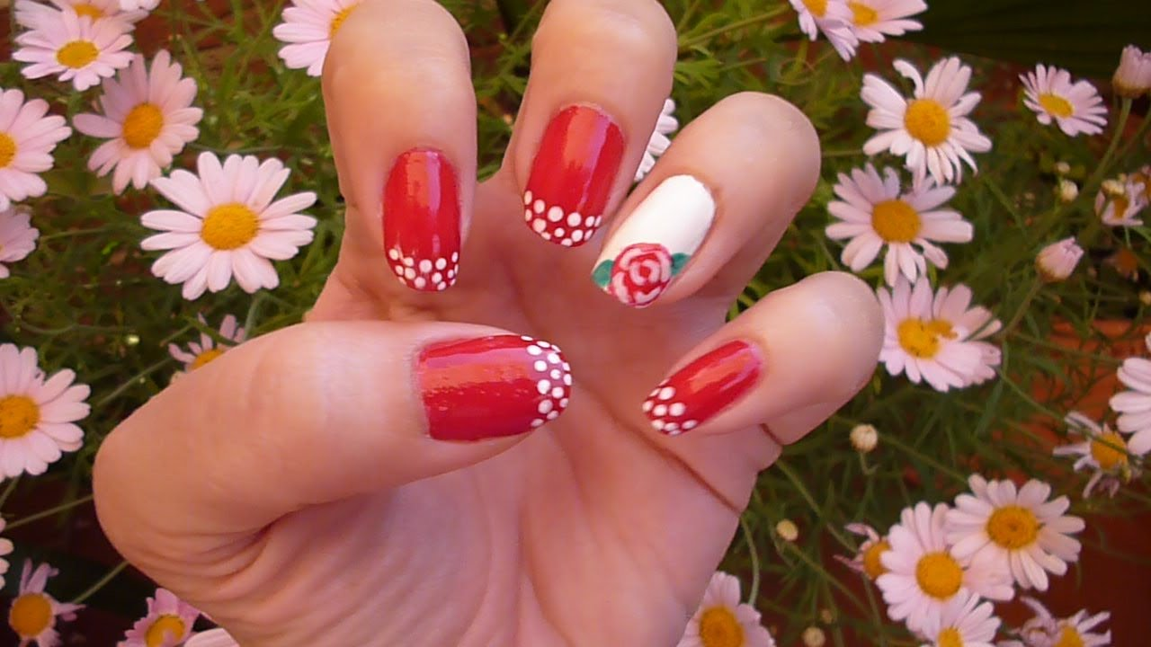 Diseño De Uñas Flamencas