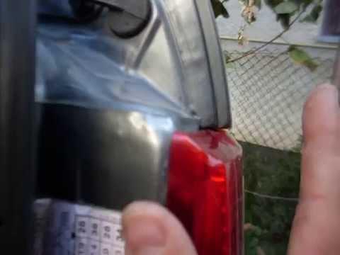 Вода в багажнике причина и устранение ауди 80.