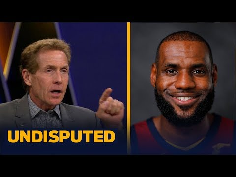 Skip Bayless on LeBron and Wade joining forces again: 'I've never seen LeBron happier' | UNDISPUTED