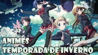 Animes da Temporada de Inverno 2014 [Upcoming Winter 2014 Anime]