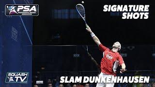 Squash: Signature Shots - Simon Rösner - 'Slam DunkenHausen'