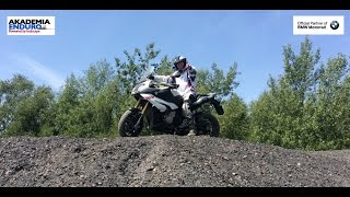 BMW S1000XR - ON & OFF ROAD TEST - ENDURO ACADEMY POWERED BY INCHCAPE