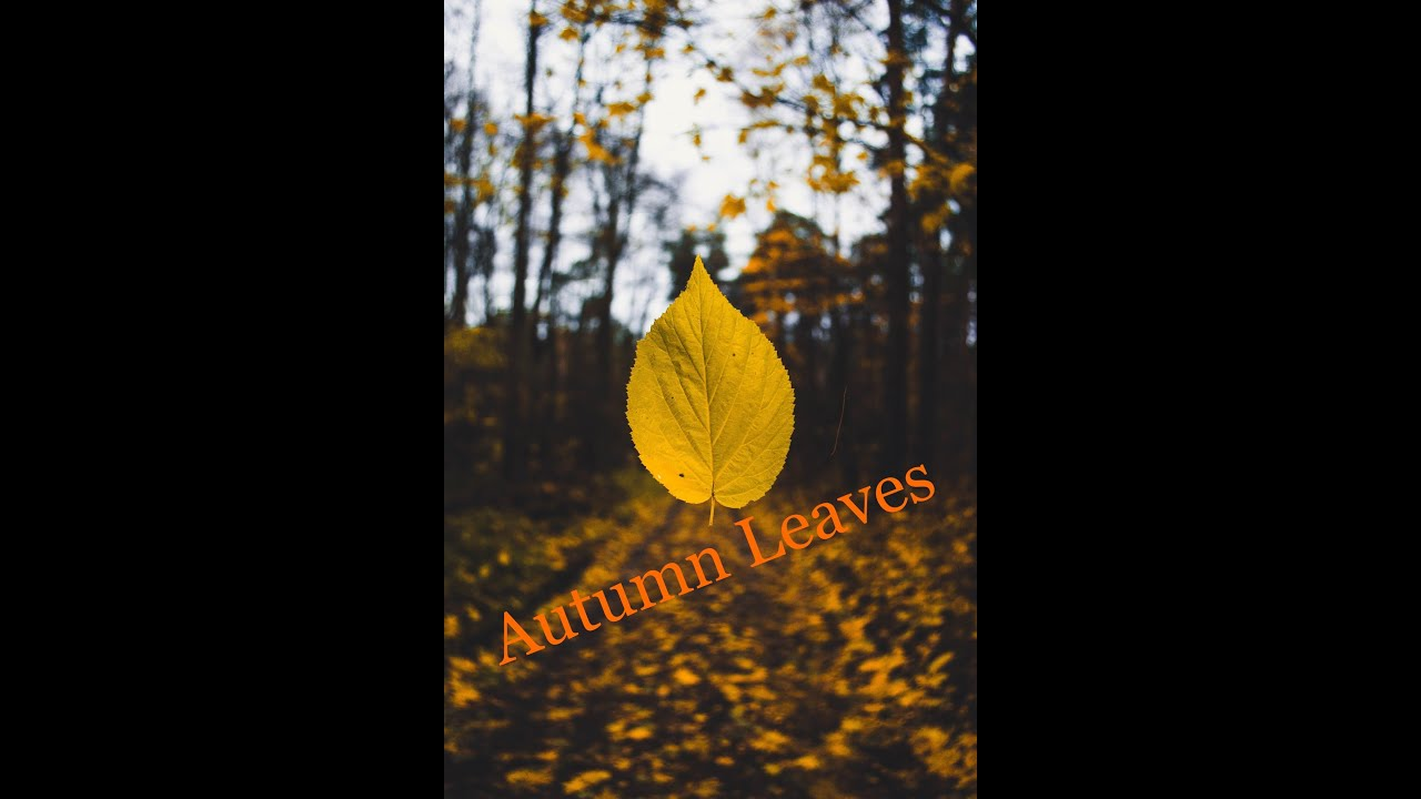 Autumn Leaves  Piano solo