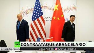 trump responde a china eleva los aranceles del 25 al 30 desde el 1 de octubre