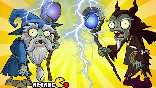 Plants Vs Zombies 2: New World Dark Ages Night 16 Wizard Wizard