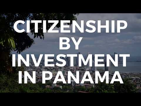 CITIZENSHIP BY INVESTMENT IN PANAMA